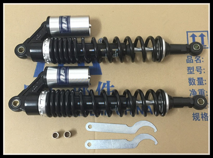 40cm motorycle Shock absorber ATV motorcycle nitrogen gas Shock absorber forging double damping adjustable shock absorber damping nitrogen cylinder suitable for motorcycle modification