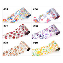 10pcs Nail Transfer Foil Sticker Paper Mix Creative Designs Nail Art Decals Decoration DIY Beauty Manicure Tools 3d nail art fimo soft polymer clay fruit slices cartoon for nail manicure sticker cell phones diy designs wheel decoration czp35