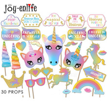 Buy JOY-ENLIFE 1set 6 Styles DIY Rainbow Unicorn Pho online