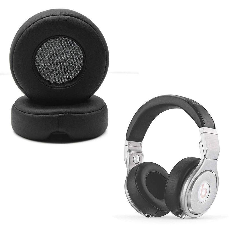 1 Pair Earphone Ear Pads Earpads Sponge Soft Foam Cushion Replacement For Beats Dr. Dre Pro Detox Headphones