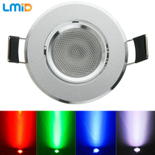 hot deal buy lmid 3w 1*3w  rgb led ceiling recessed downlight surface mounted led ceiling lamps spot light led downlights