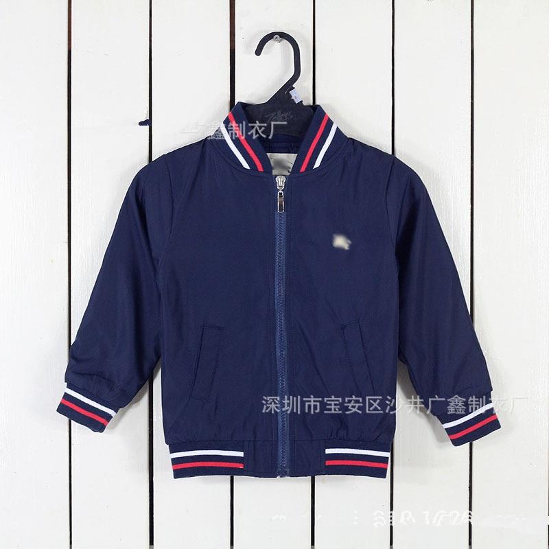 2016 kids luxury fashion brand for children baby boys and girls autumn V neck cardigan jacket