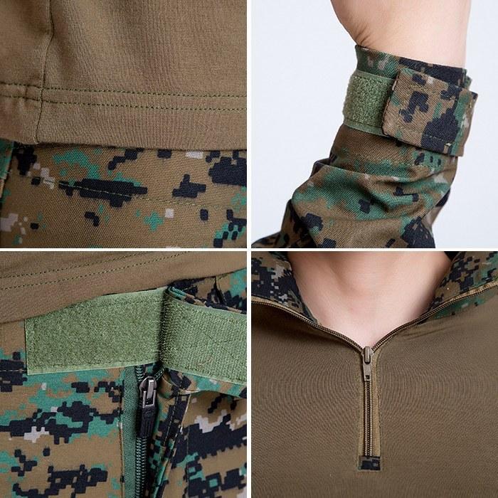 Hommes de plein air grenouille costume armée uniforme militaire - Sportswear et accessoires - Photo 5