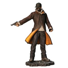 Watch Dogs Aiden Pearce PVC Action Figure Model Toy Gift 24cm