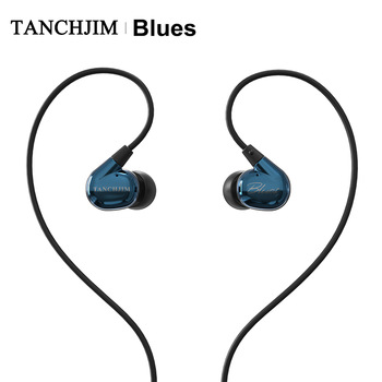 TANCHJIM Blues HiFi Audio DMT Dynamic driver In-ear earphone IEM for Blues/Pop/Rock Music For Mobile Phone Line Type earbuds 1