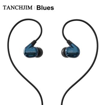 TANCHJIM Blues HiFi Audio DMT Dynamic driver In-ear earphone IEM for Blues/Pop/Rock Music For Mobile Phone Line Type earbuds 1
