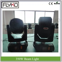 16 channels motorized focus 350W moving head beam light