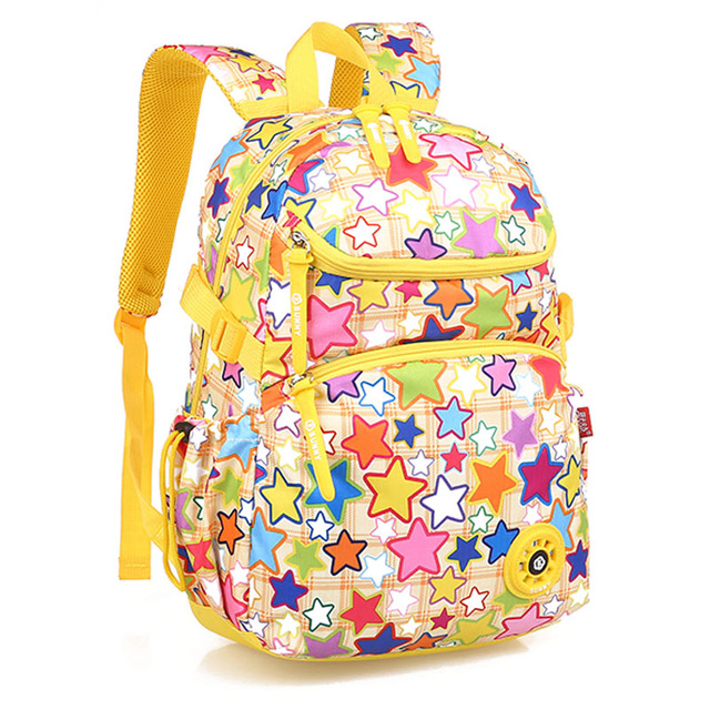 c5ea0f1dddf Genuine   multicolor ergonomic elementary school bag books child children  backpack Graffiti for girls Boy for class grade1-3-6