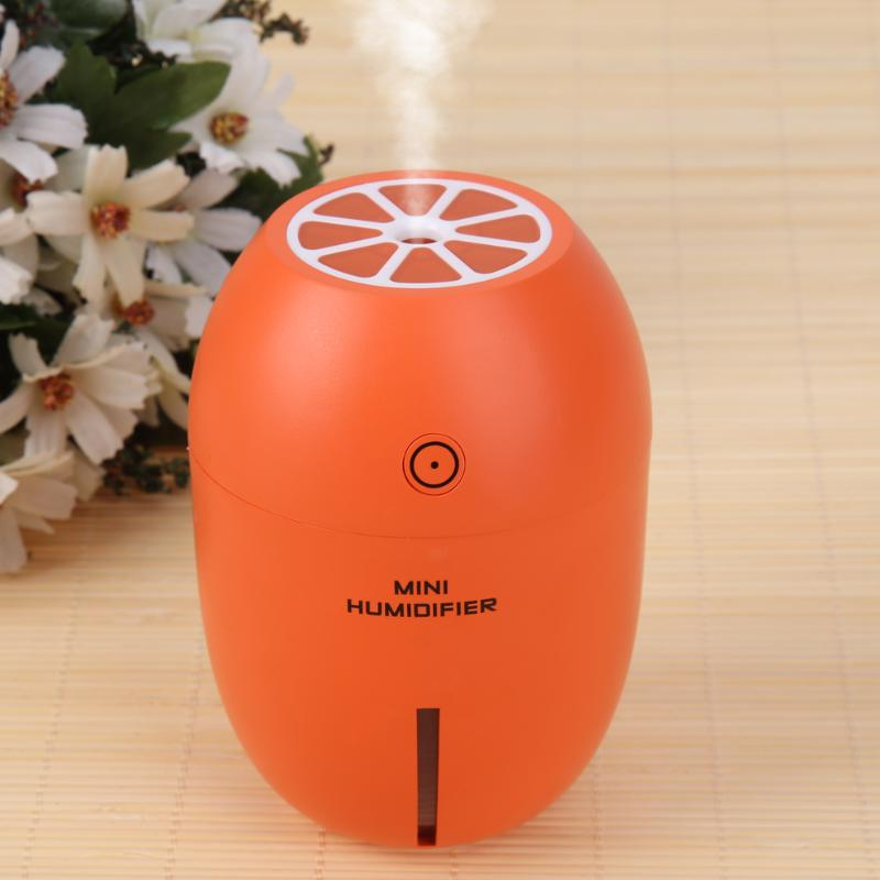 180ML Mini Lemon Ultrasonic Air Humidifier USB LED Light Air Purifier Essential oil Diffuser Mist Maker for Home Office Car portable mini air humidifier purifier night light with usb for home office decorations