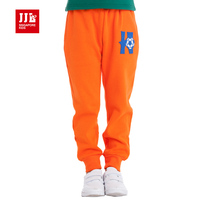 boys causal trousers unique color design bright patch pocket knitting pants size 4-15 years boys winter pants kids sports pants