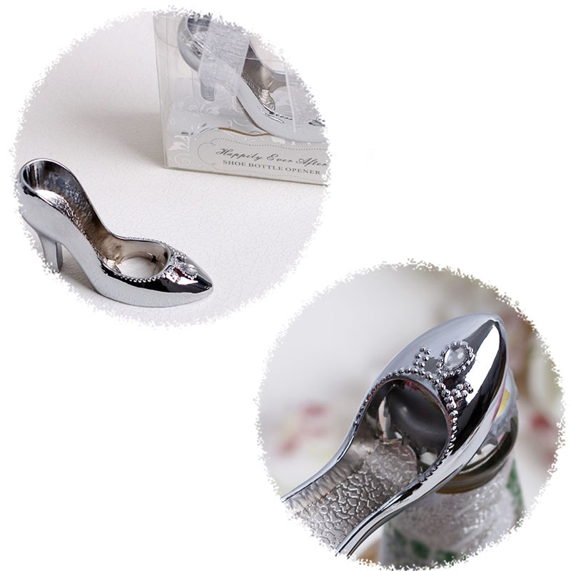 9da9daa52233 100pcs Free Shipping Cinderella Shoe Bottle Opener Wedding Favors And Gifts  Wedding Gifts For Guests Wedding Souvenirs ZA1135-in Openers from Home    Garden ...