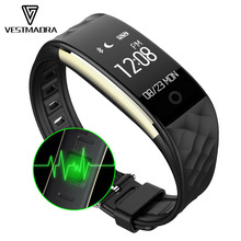 S2 Bluetooth Smart Band Браслет Heart Rate Мониторы IP67 Водонепроницаемый SmartBand браслет для Android IOS Телефон PK fitbits