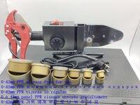 Ücretsiz Kargo Çift sıcaklık kontrollü  PPR KAYNAK MAKINESİ  plastik boru kaynak makinesi AC 220 V 1500 W 20-63mm kullanımı