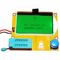 9V LCD screen ESR-T4 Mega328 Digitale Transistor Tester Diode Triode Kapazität ESR Meter MOS/PNP/NPN LCR 12864