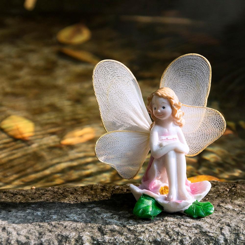 Aliexpress.com : Buy Miniatures Fairy Garden Decorations Flower ...