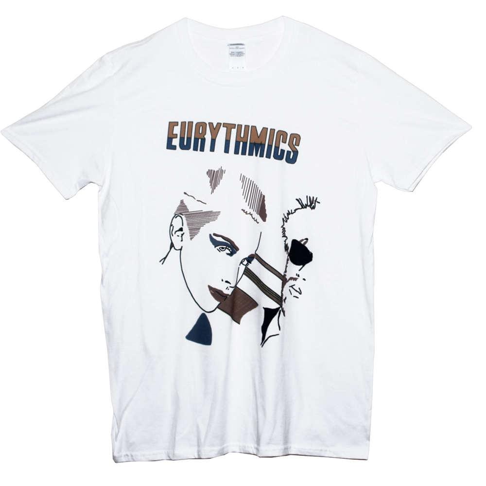 Tee Shirt Hipster Brand Clothing T Shirt EURYTHMICS T Shirt Ultravox Annie Lennox New Wave Unisex Tee Sizes S M L XL XXL Anime C