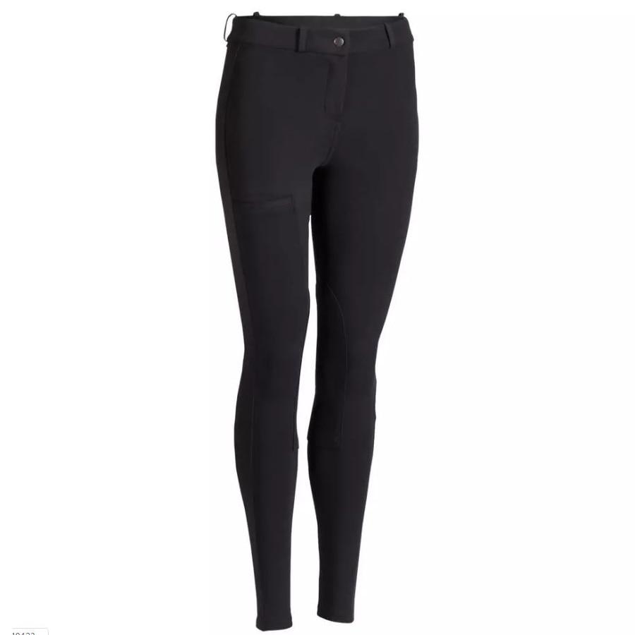 2019 NOVAS Mulheres calças de Equitação Mulheres SkinnyTight Macio Respirável Calças De Equitação Equitação Escolaridade Chaps Marrom Preto