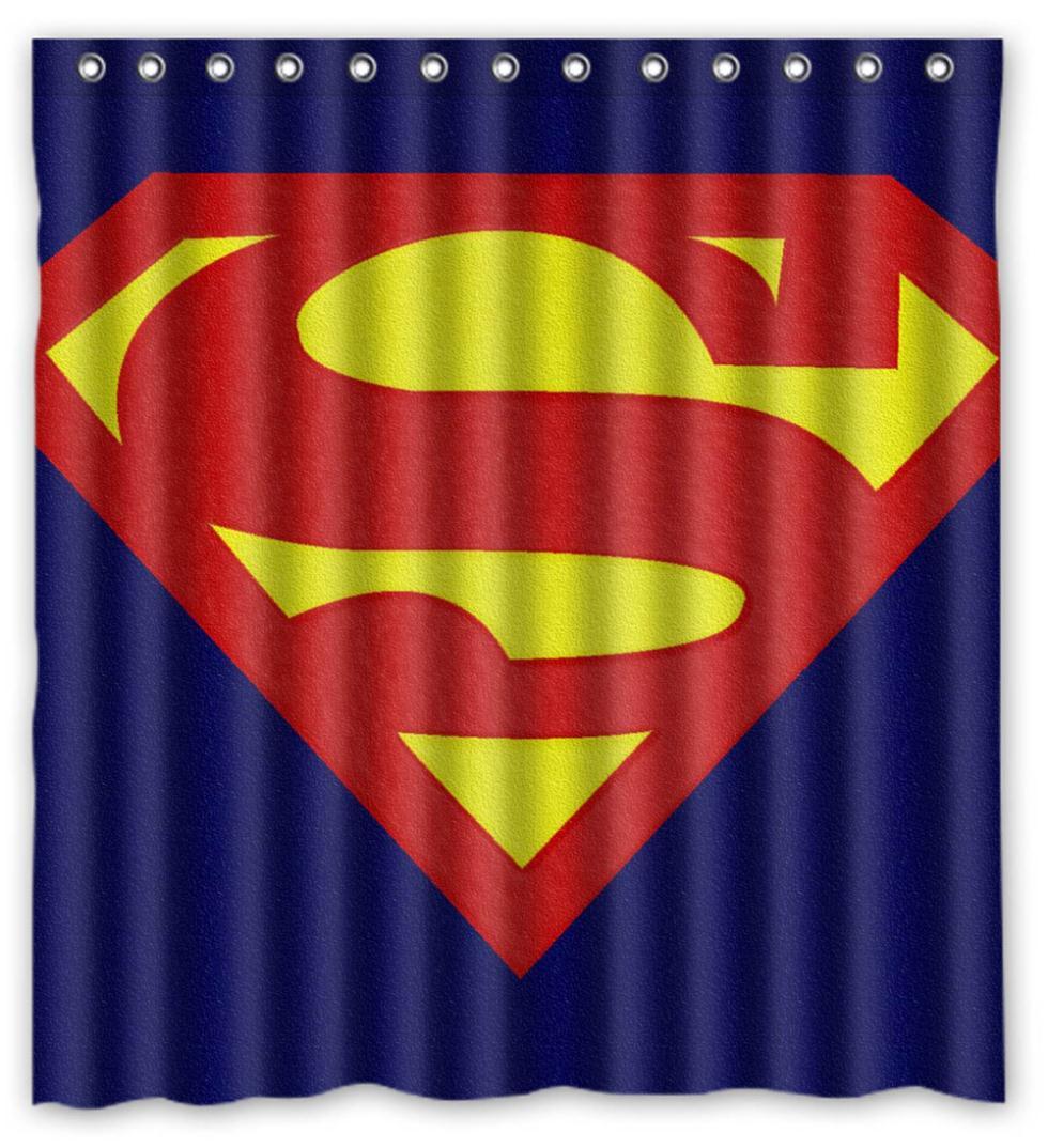Superman Curtains