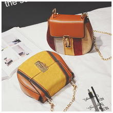 New fashion Ms circular bag Hand the bill of lading shoulder his physical clock round package 21-81221