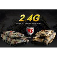 516 10 1/24 RC Tank Crawler IR Remote Control Toys Simulation Infrared RC Battle Tank Toy RC Car gifts for kids toys for boys
