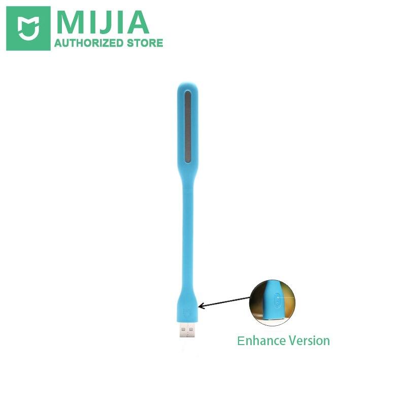 D'origine Xiaomi Mijia USB LED Lumière Avec Interrupteur, 5 niveaux de luminosité USB pour la banque D'alimentation/Pc Portable, Portable LED lumières