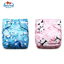Babyland PUL Fabric Diaper Pants 30pcs Washable Diaper Covers Reusable Nappies Cloth Diapers Manufacturers Baby Dream Diapers