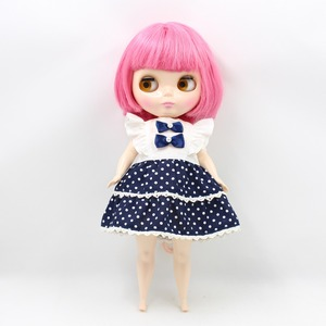 Image 3 - The Body of Fortune Days doll plump Body blyth suitable for change the body for the plump Lady PINK SHORT HAIR 2476