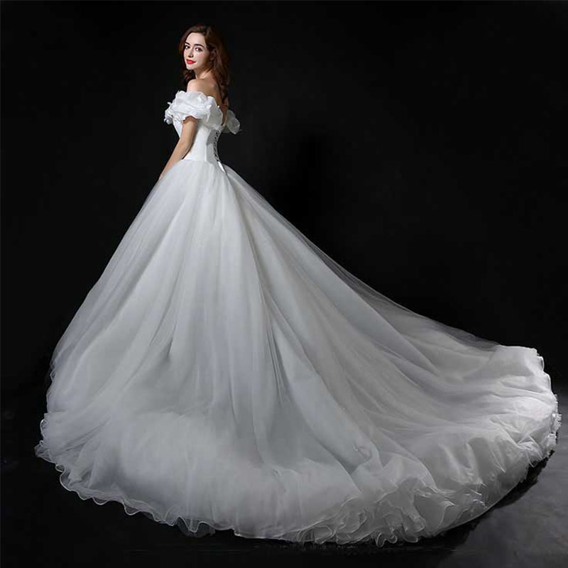 Cinderella New Movie Deluxe Blue Wedding Dress Costume Bridal Dresses Robe De Mariee In From