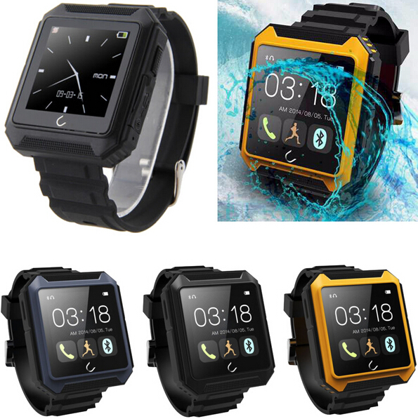 ФОТО 2016 Latest IP68 Waterproof Compass Bluetooth Watch Uterra for IOS Iphone 5S 6S 6S plus  Android 4.4  5.1  Samsung Note 7 5 S6