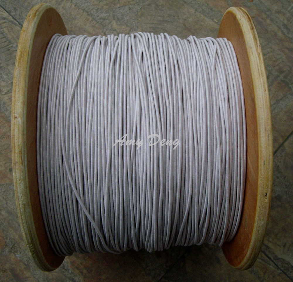 20meters/lot  0.1x1300 Shares Litz Strands Of Cotton Polyester Envelope Is Sold By The Metre