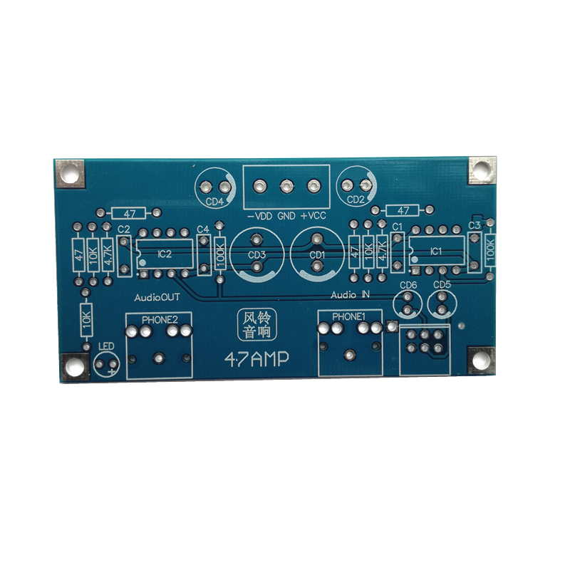 1 Piece  47 Headphone Amplifier PCB  Printed Circuit Board Does Not Contain Any Components