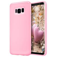hot deal buy for samsung galaxy s8 case, grandever soft tpu case candy solid color cover case for samsung galaxy s8 plus case