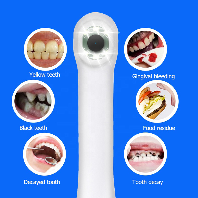 HD 5.0MP Waterproof Endoscope Camera Wifi Connection Intraoral Dental Camera Oral Observation Borescope Camera For Home Use
