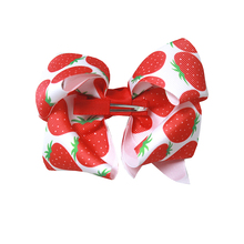 5 Inch New Girls Hair Accessories Hair Bows Children Princess Hairpins Kids Child  Grosgrain Ribbon Crocodile clip цена в Москве и Питере