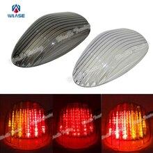 Compras baratas Waase e-marcado trasero taillamp cola señales de giro Blinker luz LED integrada para Kawasaki Vulcan Mean Streak 2002 -2008