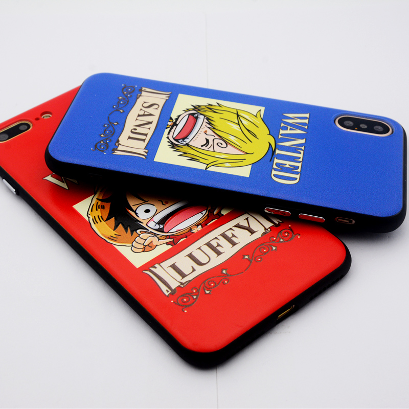 coque iphone 6 one piece wanted