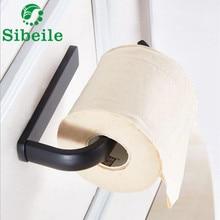 Держатель для бумаги, черный Латунное настенное крепление, держатель для туалетной бумаги, Античные аксессуары для ванной, держатель для рулона, для улучшения дома