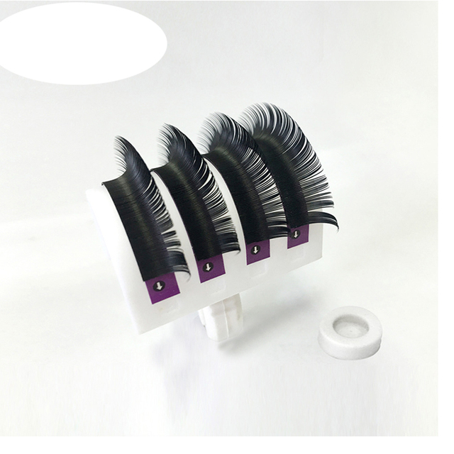 1 pc 0.03-0.25mm B/C/D Curl Mink Eyelash Extension Thin and Soft Material Volume  Lash Individual Eyelashes 4