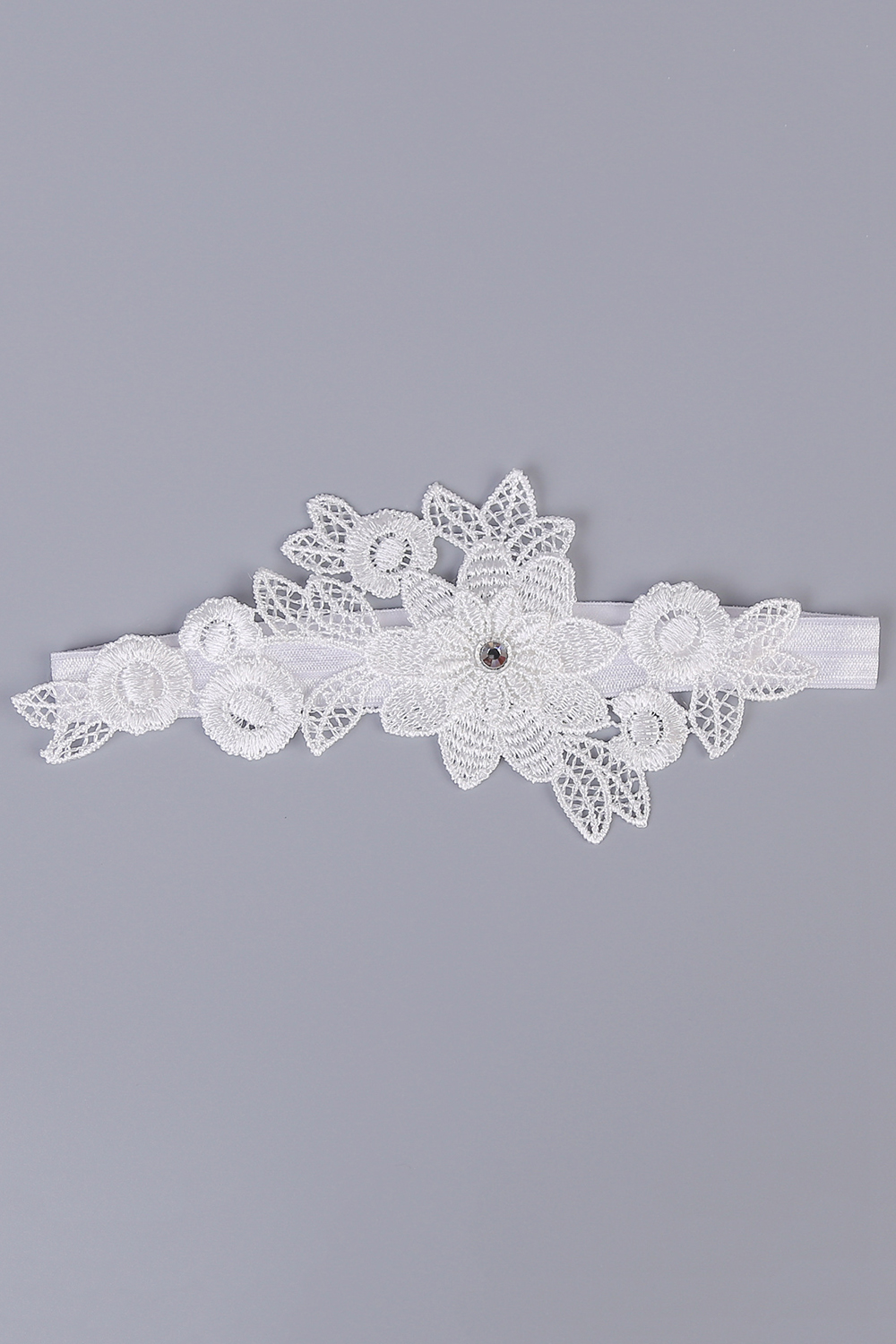 Fast Deliver Wedding Gloves 2018 Hot-selling Vintage Lace Bridal Leg Garter With Blue Rhinestones Ivory Appliques Wedding Accessories Fi034 Weddings & Events