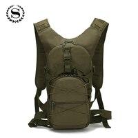 3 P Außen Military Armee-grün Rucksack Wasserdichte Oxford Casual Camouflage Reisetasche Frauen Reisen Mochila ZZ492