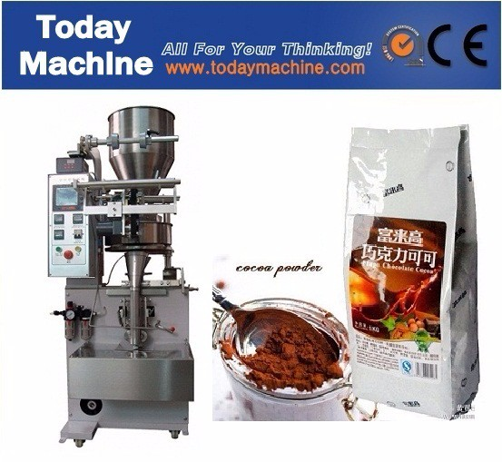 powder granule liquid source tea shampoo vertical film forming sealing bag sachet sack pouch filling feeding bagging machine