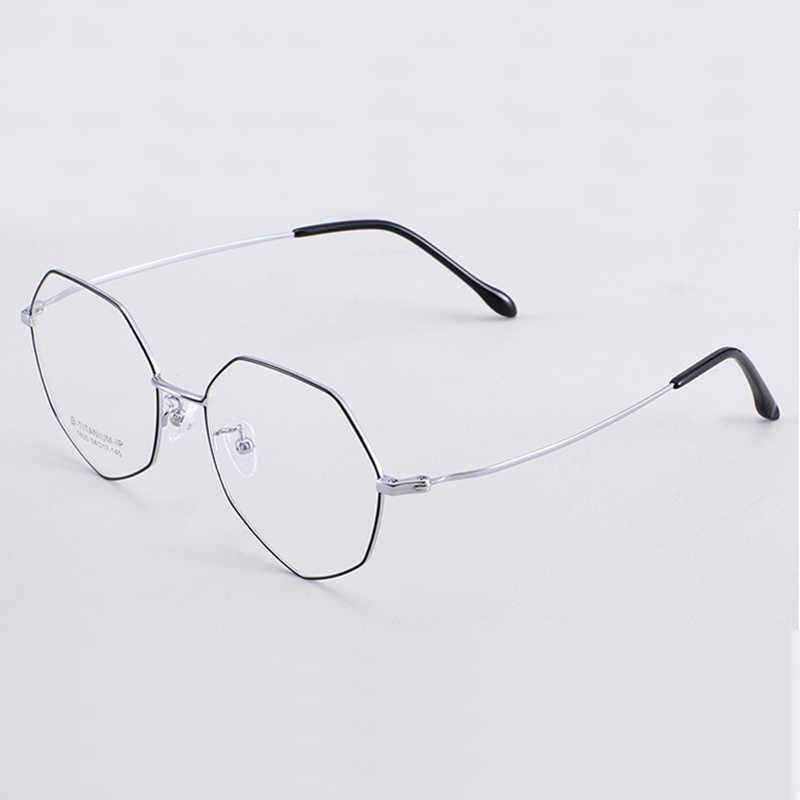 Handoer 1830 Optical Glasses Frame for Beta Titanium Eyewear Full Rim Spectacles Prescription