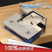 Wall To Glass Offset Hinge For 8 12mm 3 8 1 2 Thickness Glass Polished Chrome