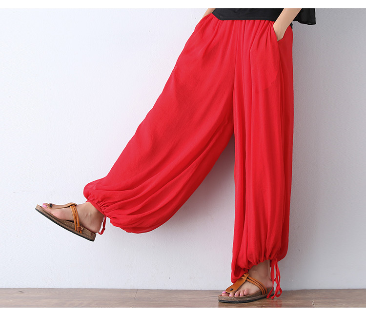 Compare Prices on Red Linen Pants- Online Shopping/Buy Low Price ...