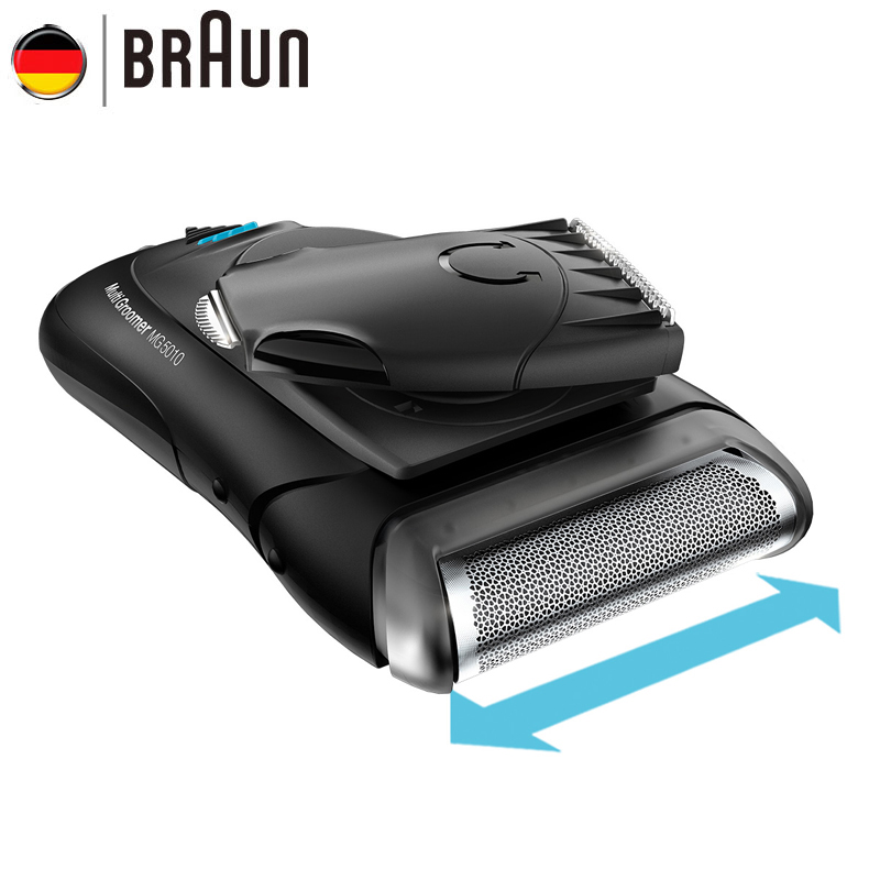 Original Braun Electric Shaver MG5010 Shaving Machine Electric Razor for Men Washable Universal voltage Face Care braun series 3 electric shaver 3080s electric razor blades shaving machine rechargeable electric shaver for men washable