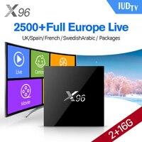 X96 Amlogic S905X Android 6 0 Smart TV Box Quad Core HDMI 2 0 Set Top