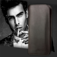 Genuine Leather Case For Coque Samsung Galaxy S5 Case Wallet Flip Cover For Samsung Galaxy S5