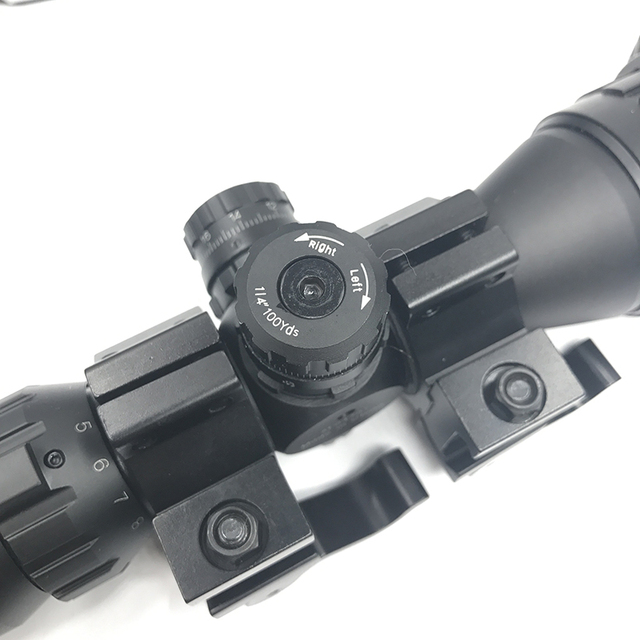 Tactical Riflescope Optical 3-9×32 AOLWQ 1inch Tube Mil-dot Compact With Sun Shade and QD Rings Hunting Rifle Scope