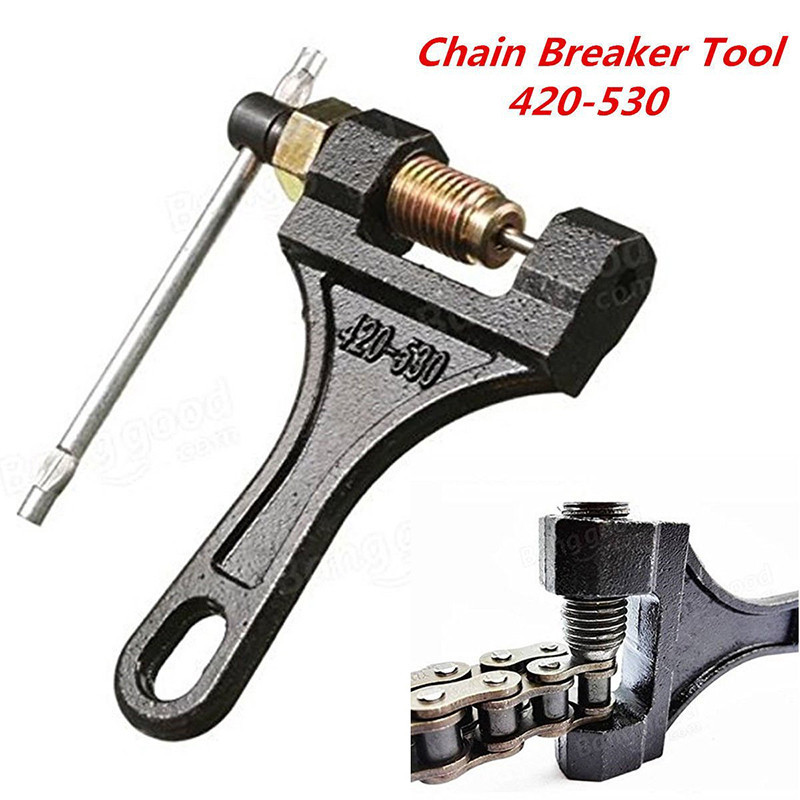 Motorcycle 420-530 Chain Splitter ATV Cutter Breaker Removal Repair Plier Tool Motorcycle Handheld Cutting Tool Parts