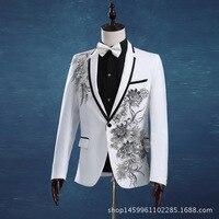 الدعاوى الجديدة مان prom الدعاوى بدلة الزفاف للرجال الرجل البدلات الرسمية يتأهل عودة تنفيس (سترة + بنطلون + ربطة) YF54